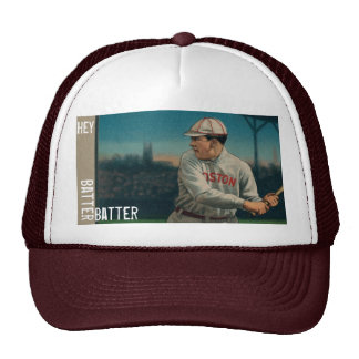 2b. Hey, Batter Batter - Vintage Baseball Phrases Trucker Hat