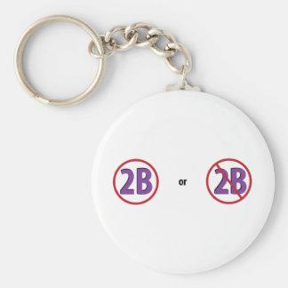 2B KEYCHAIN
