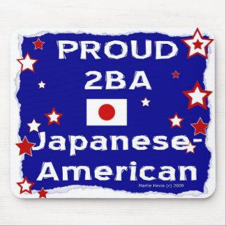 2B orgulloso un Japonés-Americano - Mousepad