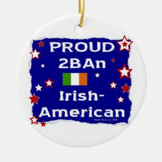 2BAn orgulloso Irlandés-Americano Adorno