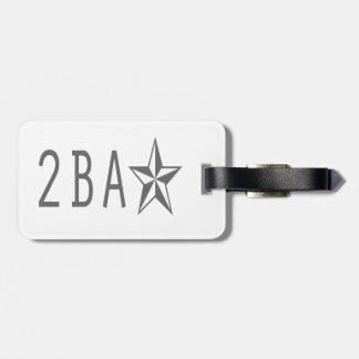 2baStar:  Luggage Tag