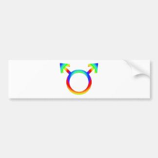 2become1 Gay Pride Bumper Sticker