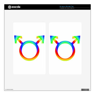 2become1 Gay Pride Decals For Kindle Fire