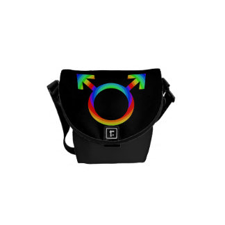 2become1 Gay Pride Courier Bag