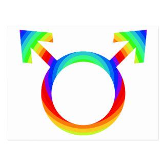2become1 Gay Pride Postcard