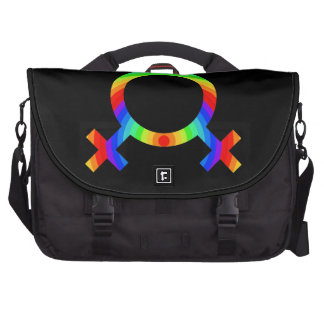 2become1 Lesbian Pride Commuter Bags