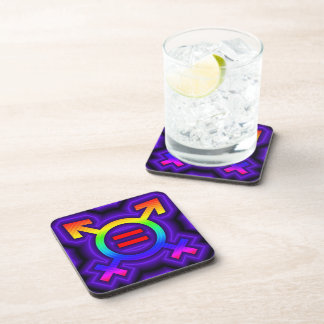2become1 same-sex marriage drink coaster