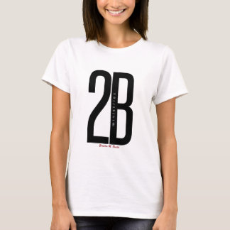 2BMinistries Shirt Exclusive, Female/RED 2BMin