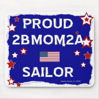 2BMOM2A marinero orgulloso - Mousepad