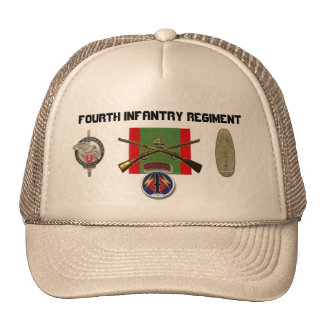 2BN 4th Infantry Regiment Pershing Hat
