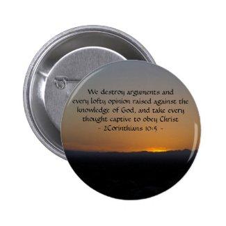 2Corinthians 10:5 Buttons
