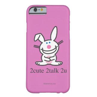 2cute 2talk 2u barely there iPhone 6 case