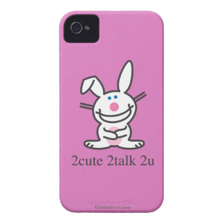 2cute 2talk 2u iPhone 4 Case-Mate case