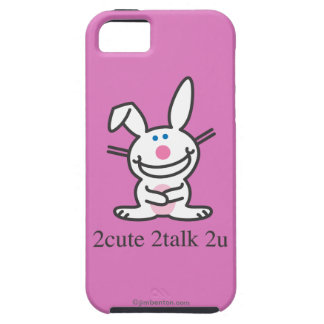 2cute 2talk 2u iPhone SE/5/5s case
