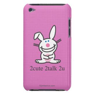 2cute 2talk 2u iPod touch Case-Mate case