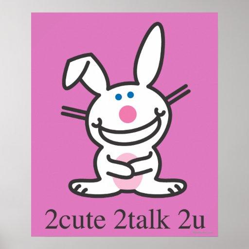 2cute 2talk 2u poster