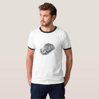 2CV Citroen ring t-shirt