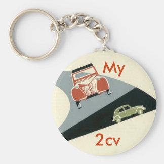 2cv My Keychains