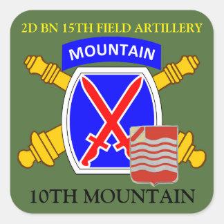 2D BN 15TH FIELD ARTILLERY 10TH MOUNTAIN STICKERS