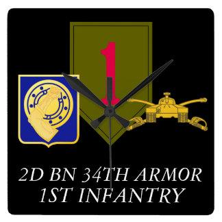 2D BN 34TH ARMOR 1ST INFANTRY CLOCK