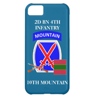 2D BN 4TH INFANTRY 10TH MOUNTAIN iPHONE CASE iPhone 5C Cases