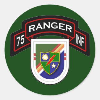 2d Bn, 75th Infantry Regiment - Rangers Classic Round Sticker
