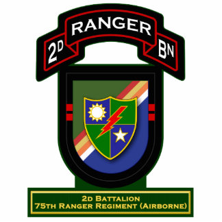 2d Bn, 75th Ranger Regiment - Airborne Statuette