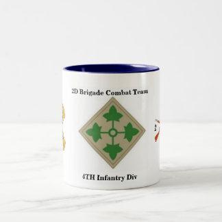 2D Bn 8TH Infantry 4TH Infantry Div Mug