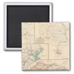 2d Corps AN Va, camps, pickets, routes 2 Inch Square Magnet