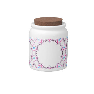 2D Embroidery 2 Candy Jar