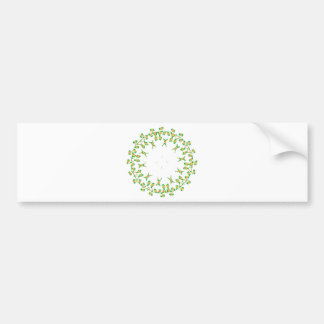 2D Embroidery @ Digital Bumper Sticker