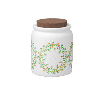 2D Embroidery Digital Candy Jars