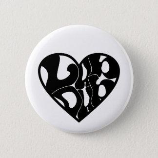 2D Lub Dub (Black) Button