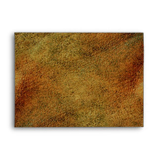 2D Photo-sampled Faux Leather-look Design Envelope