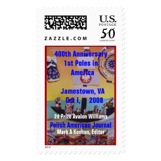 2d Prize PAJ Contest 400th Anniver... - Customized Postage