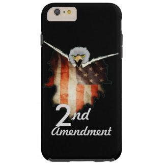 2da caja del teléfono de la enmienda funda para iPhone 6 plus tough
