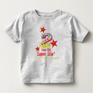 2da camisa del cumpleaños de la estrella estupenda