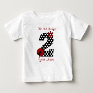 2da camisa del cumpleaños de la mariquita