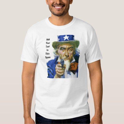 2da camiseta del Favorable-Arma de la enmienda del Remeras