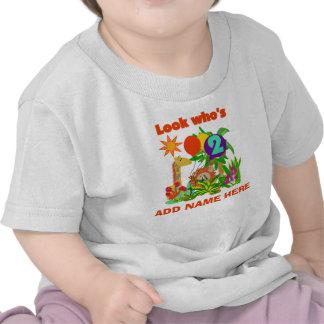 2da camiseta personalizada del cumpleaños del safa