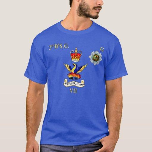 2da camiseta Scots Guards G Company de los bn
