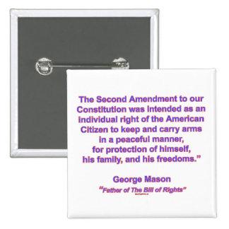 2da enmienda - albañil de George Pin Cuadrado