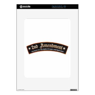 2da enmienda calcomanía para el iPad