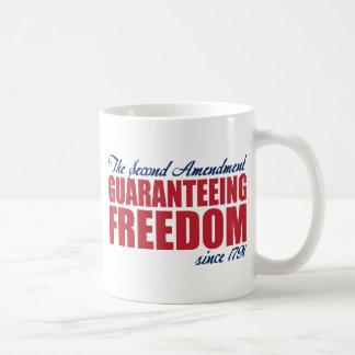 2da enmienda - garantizando la libertad desde 1791 tazas de café