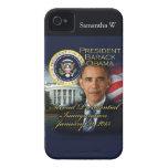 2da inauguración de presidente Obama Case-Mate iPhone 4 Protectores