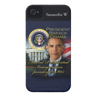 2da inauguración de presidente Obama Case-Mate iPhone 4 Protectores