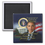 2da inauguración de presidente Obama Imán Para Frigorifico
