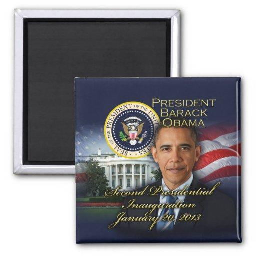 2da inauguración de presidente Obama Imán Cuadrado
