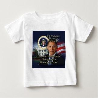 2da inauguración de presidente Obama Playera De Bebé