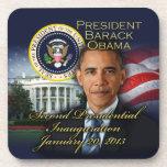 2da inauguración de presidente Obama Posavasos De Bebidas